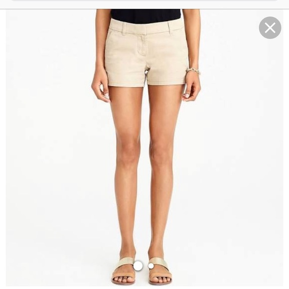 J. Crew Pants - J. Crew Women's City Fit Chino Khaki Shorts